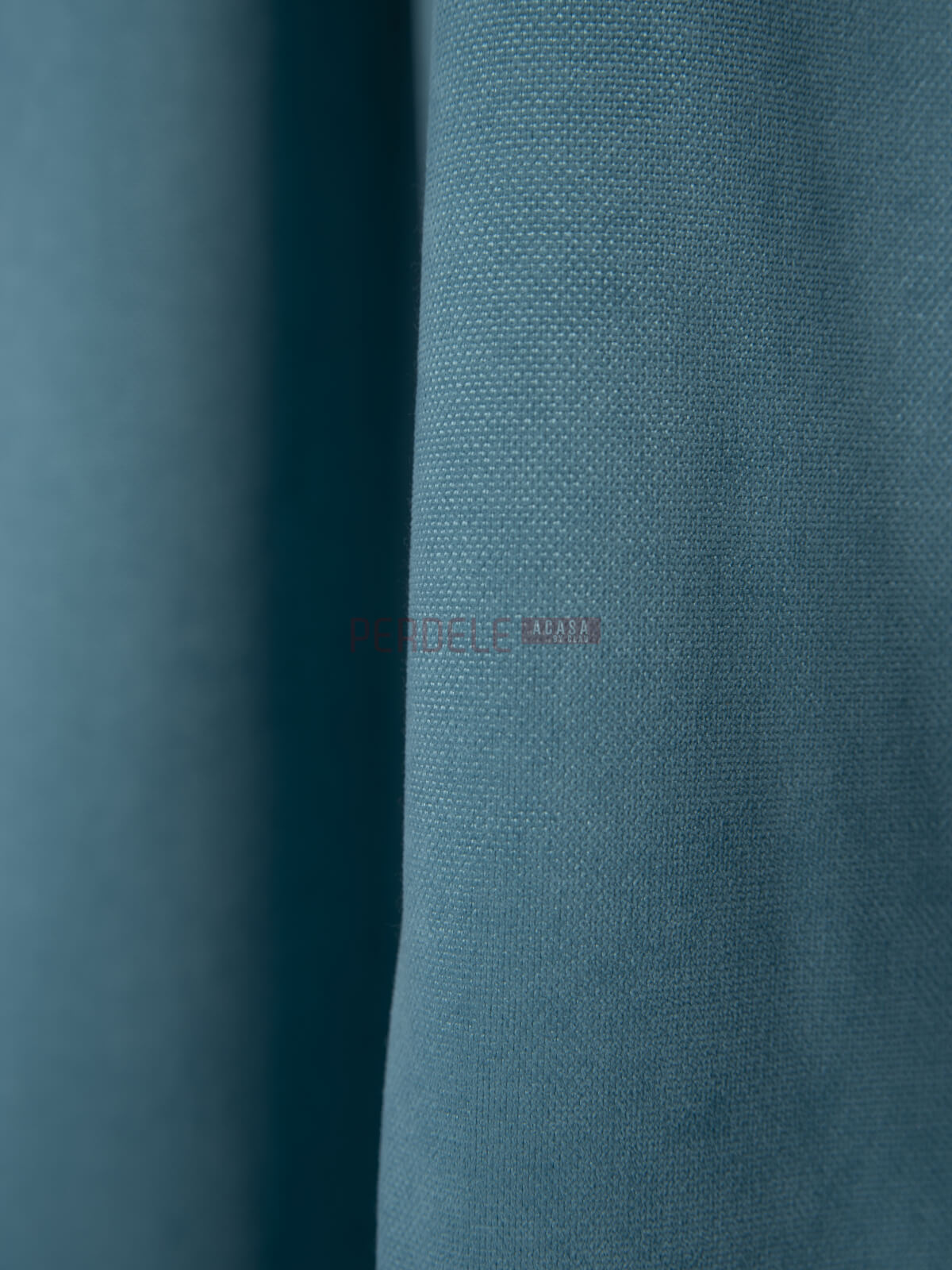 Draperie Petec, bleu